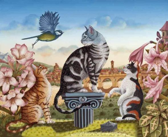 что рисунок мир котов несколько вариантов