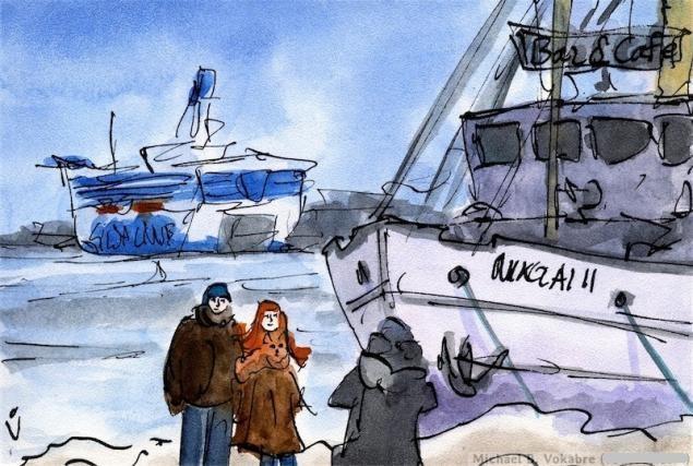 Путешествуем с Михаилом Щербаковым (Vokabre): быстрые зарисовки акварелью, фото № 5