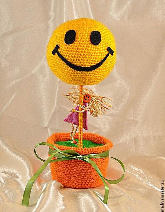 топиарий, дерево счастья, счастье, хендмейд