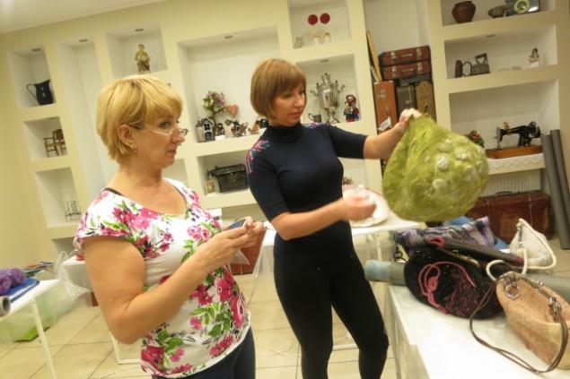 Фотоотчет по валянию сумки с мастером Ириной Бобковой., фото № 1