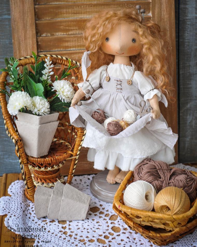 кукла, кукла в подарок, мастер-класс по кукле