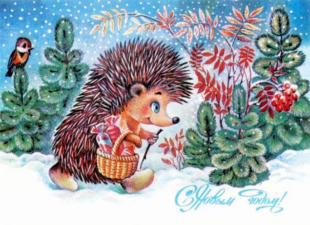 Добрые советские открытки. С Новым годом!, фото № 11