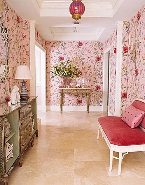 53 идеи для интерьера в розовых тонах