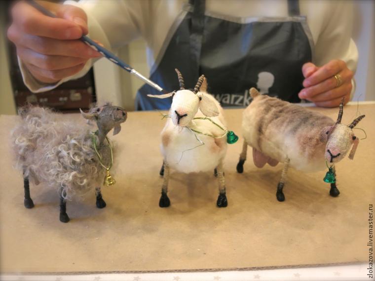 Делаем козу