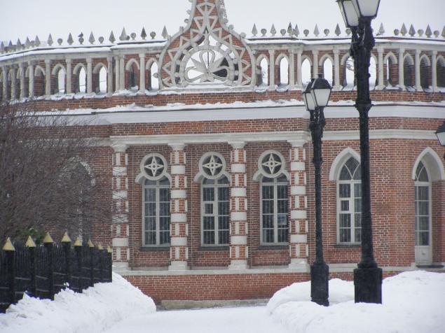 Царицыно в зимнем ракурсе., фото № 6