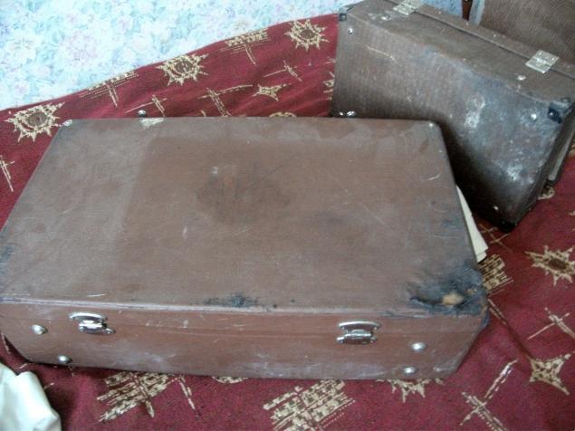 декорирование, сказка о чемодане