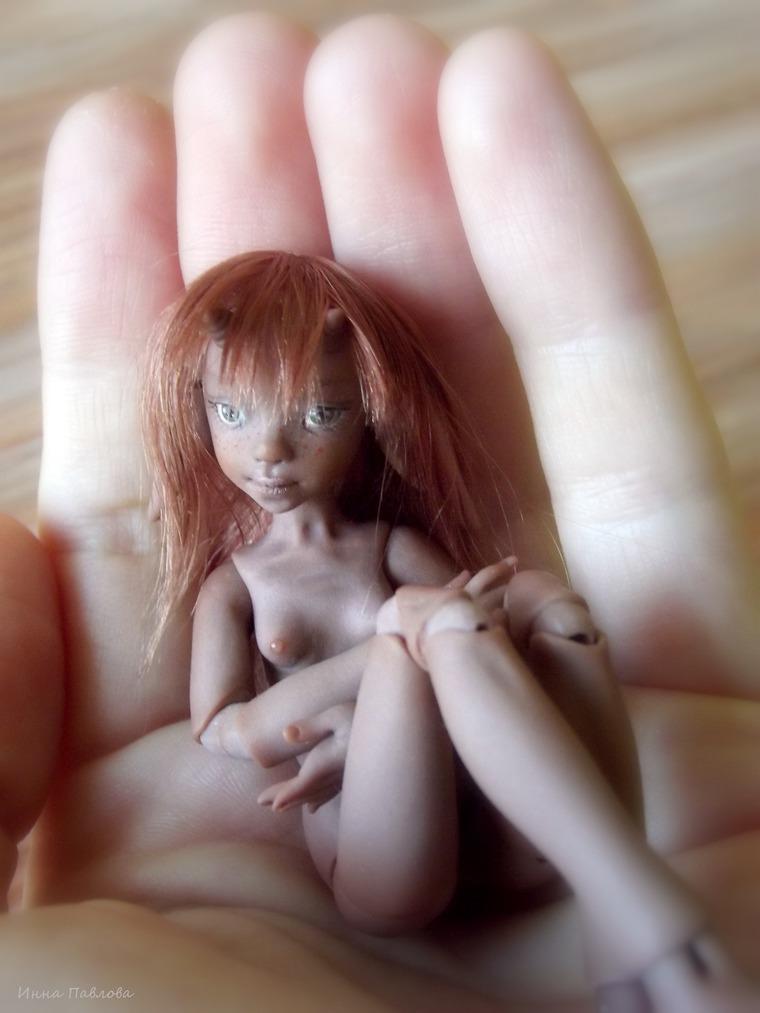 авторская кукла, rezin