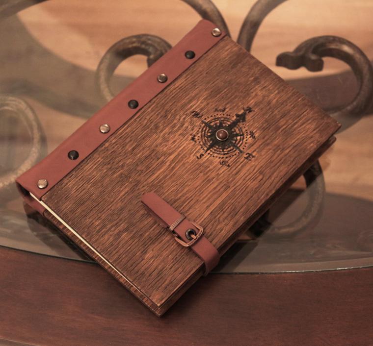 Как сделать альбом своими руками из дерева