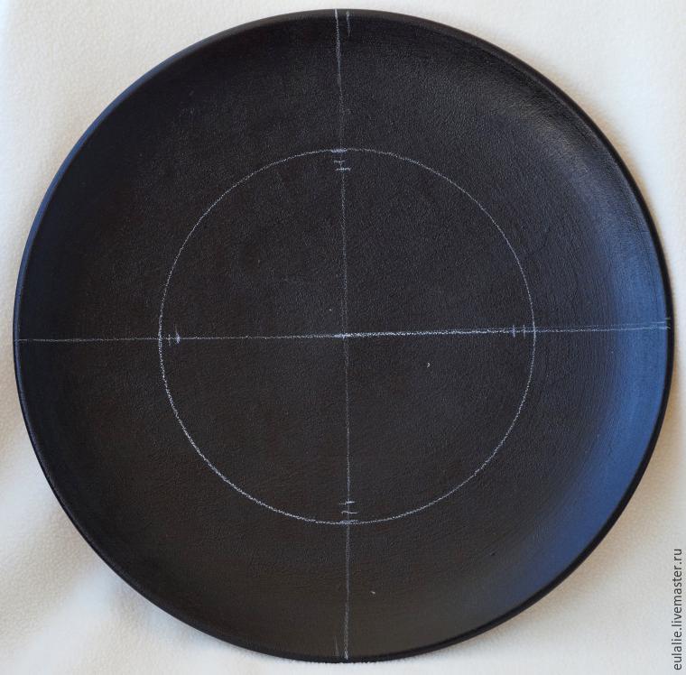 Мастер-класс по точечной росписи: тарелка-панно «танцующий Шива», фото № 2