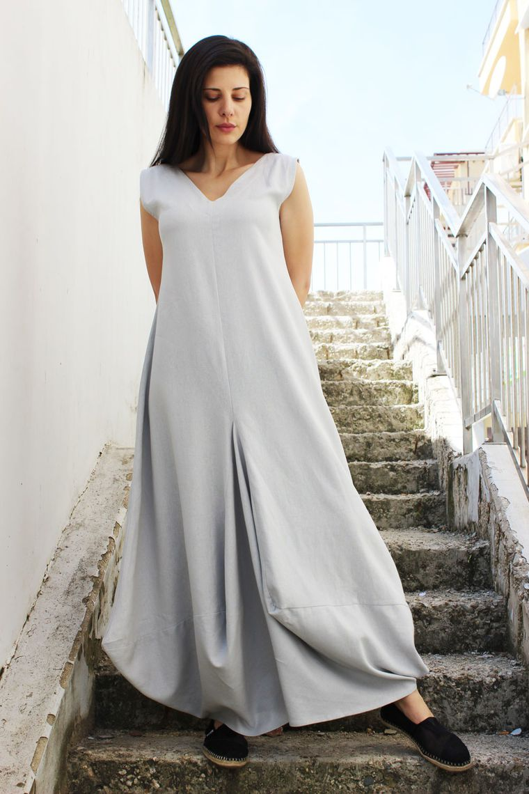 Женская одежда из льна