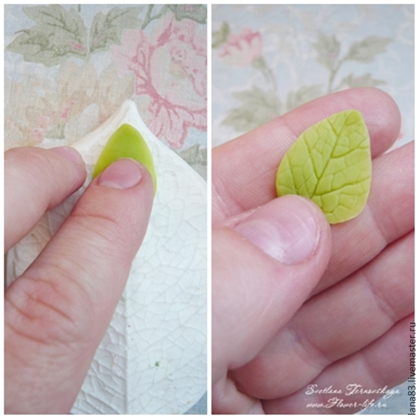 Лепим веточку сакуры из полимерной глины, фото № 8