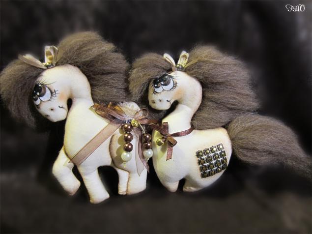 Шьём лошадок - символ 2014 г. 48874