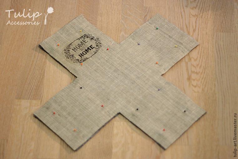 текстильный короб