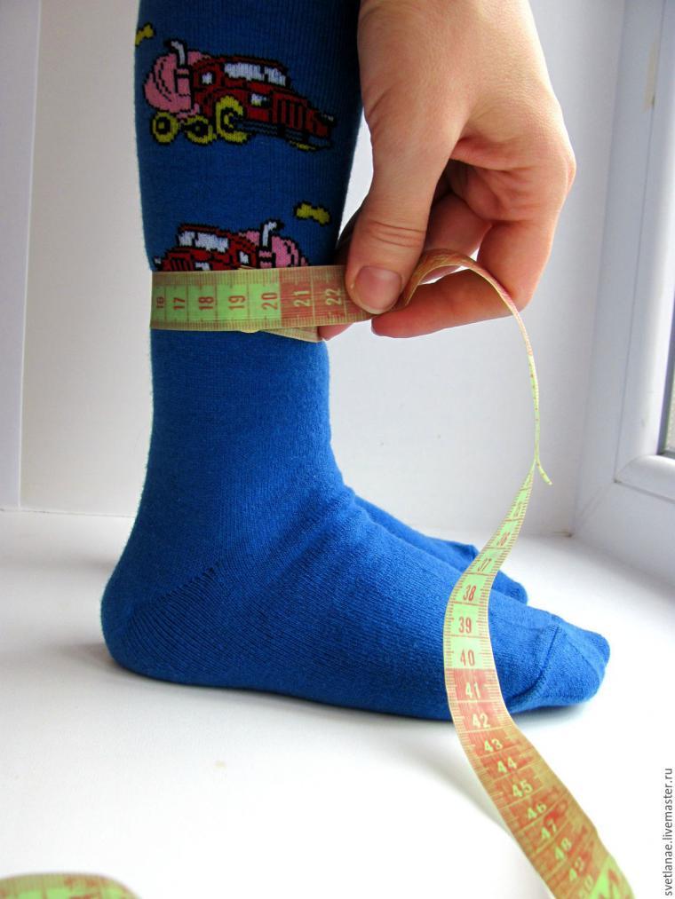 мерки для носков