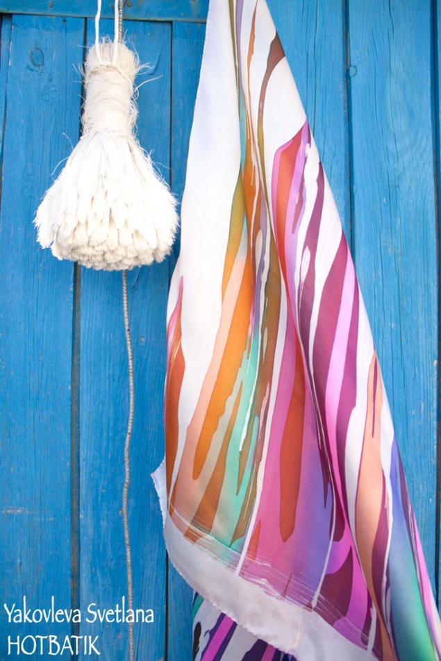конфетка, розыгрыш платка, розыгрыш приза, розыгрыш атласного платка, цветной