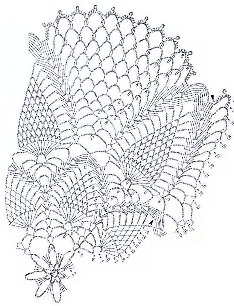 отличное занятие для выходного дня 20 схем для вязания салфеток