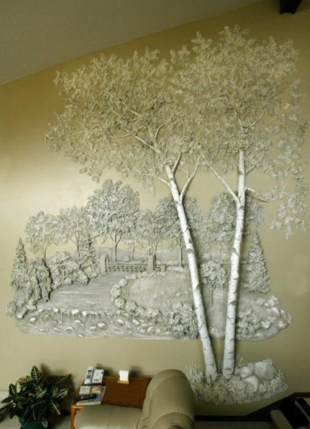 Деревья из гипса своими руками фото