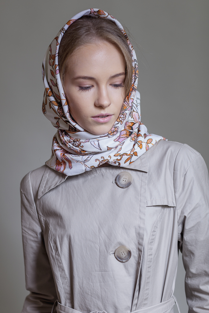 платок на голову, весна 2015