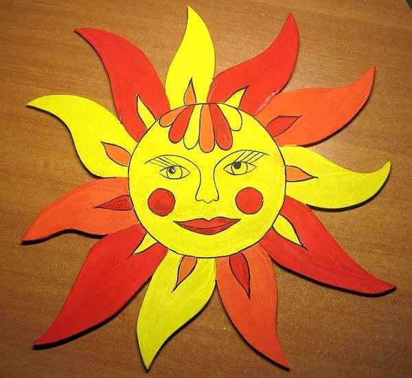 Солнце для масленицы своими руками 62