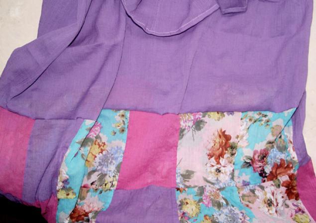 Как из бахромы сделать юбку