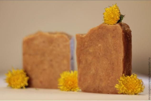 натуральное мыло с нуля, мыло с медом, мыло ручной работы, для зрелой кожи