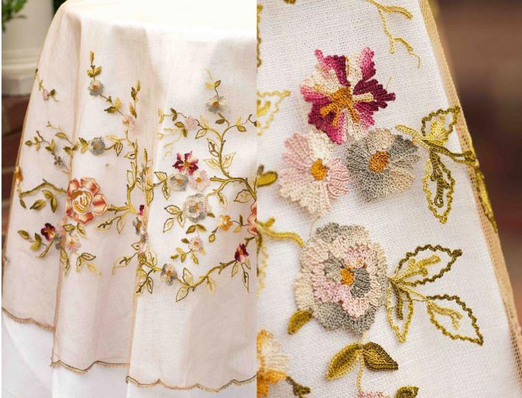 Люневильскую вышивку
