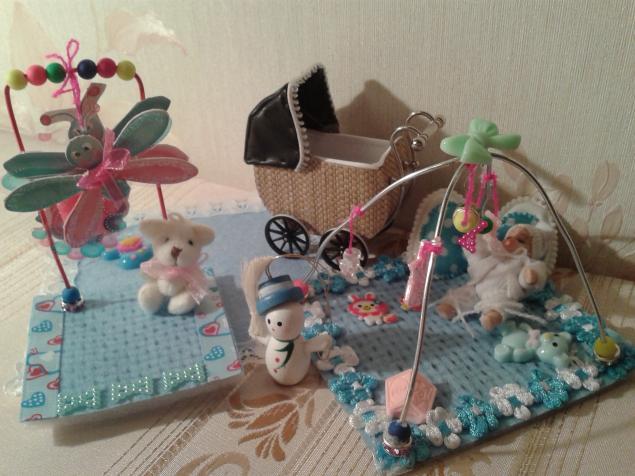 кукольный дом, кроваткка