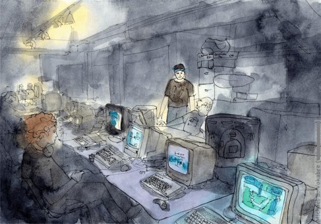 Путешествуем с Михаилом Щербаковым (Vokabre): быстрые зарисовки акварелью, фото № 33