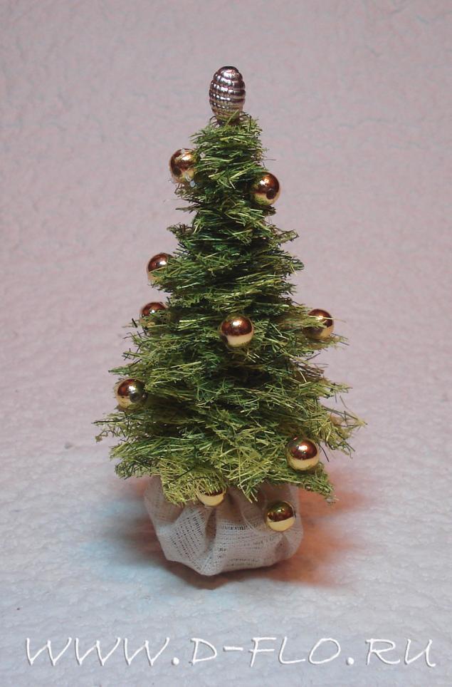 Как сделать небольшую елку