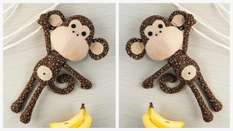 Игрушки обезьянок своими руками