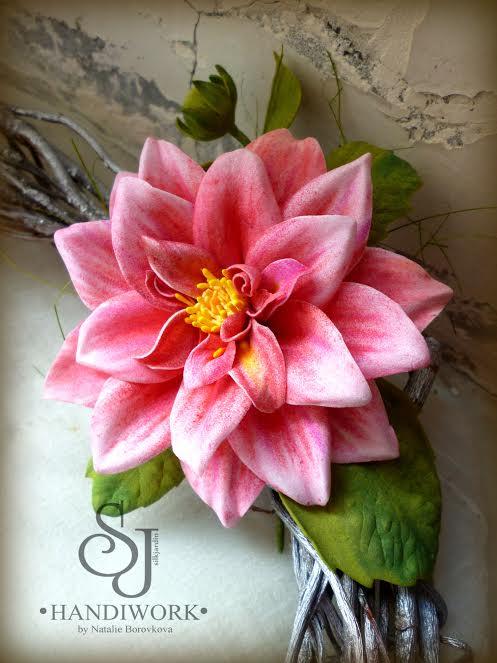 обучение, цветы ручной работы, мастер-классы, фоамиран