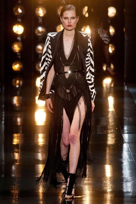 Alexandre Vauthier Haute Couture весна-лето 2014, фото № 22
