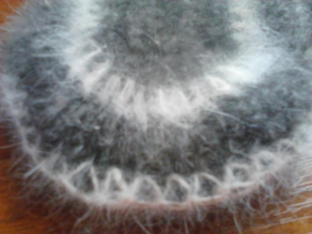 варежки спицами