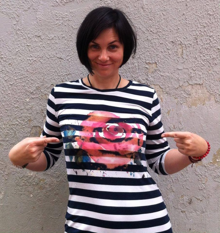 Полет бабочек на летних футболках. Онлайн мастер-класс, фото № 3