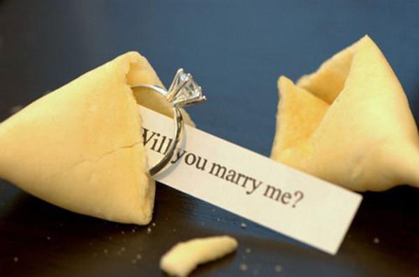 Как сделать сюрприз с кольцом