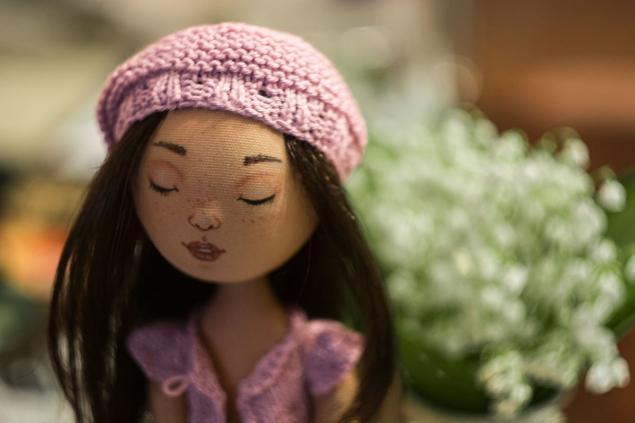 кукла, текстиль, мари, трессы, процесс