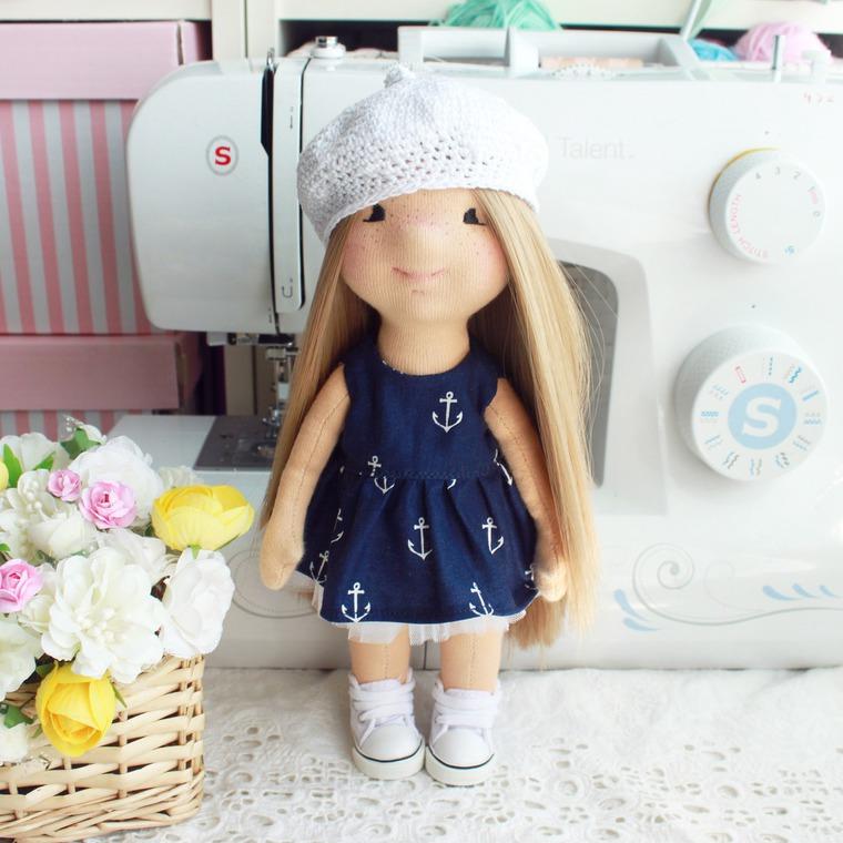 картофелька, мастер-класс, текстильная кукла, игровая кукла, handmade, снежка, тильда, кукла своими руками, уникальный, красивая кукла