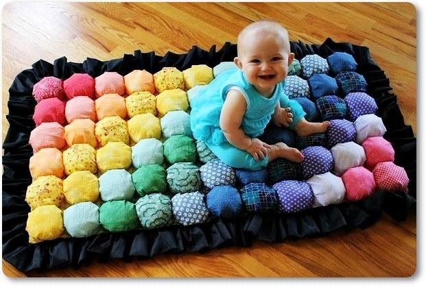 Коврики для новорожденны мастер класс