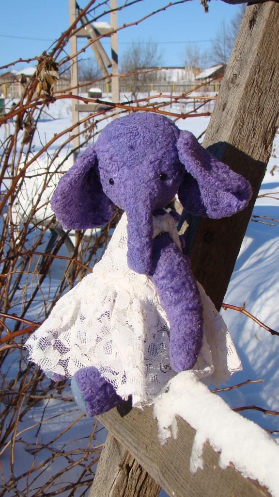 мишка девочка, слоник, винтажный стиль, авторские мишки тедди
