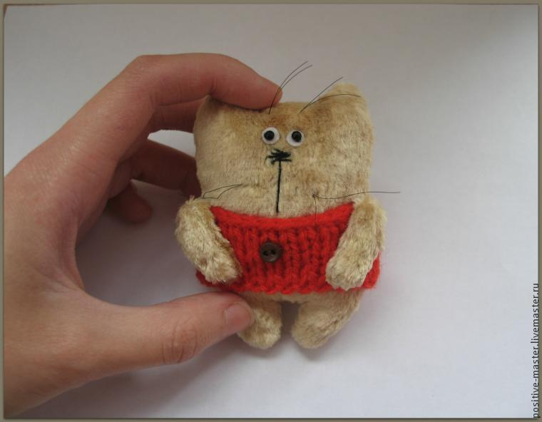 Пришло время шить теплых котов, фото № 6