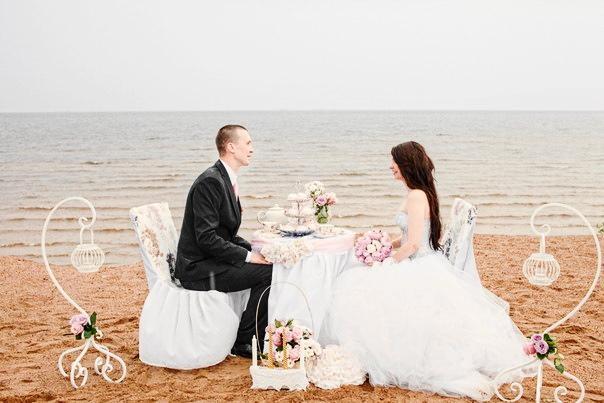 банты на свадьбе