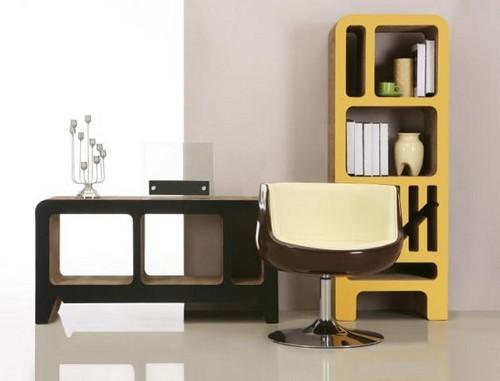 Оригинальная мебель из картона немецкого дизайнера Reinhard Dienes