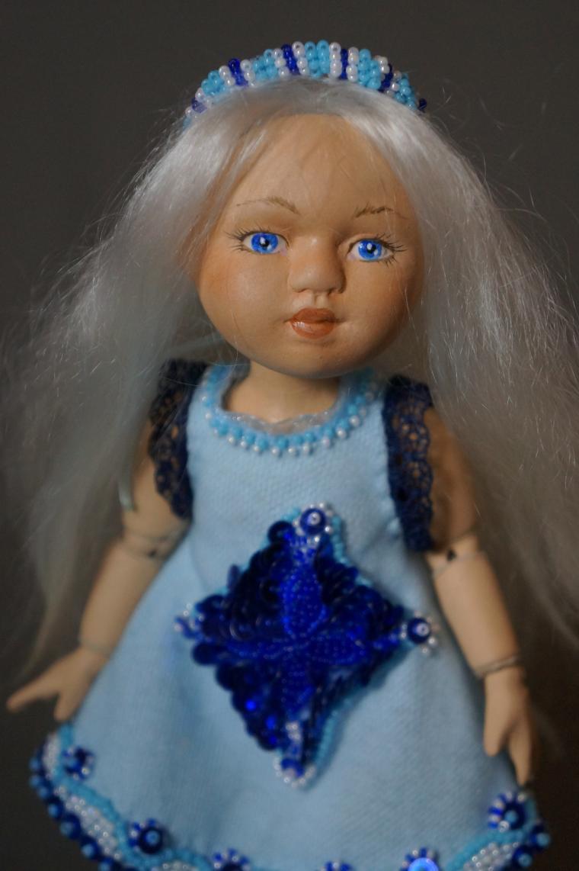кукла, серия лялики, шарнирная керамическая