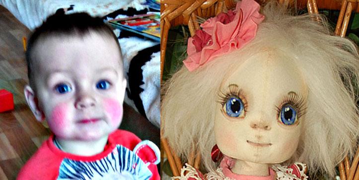 роспись, кукольное лицо