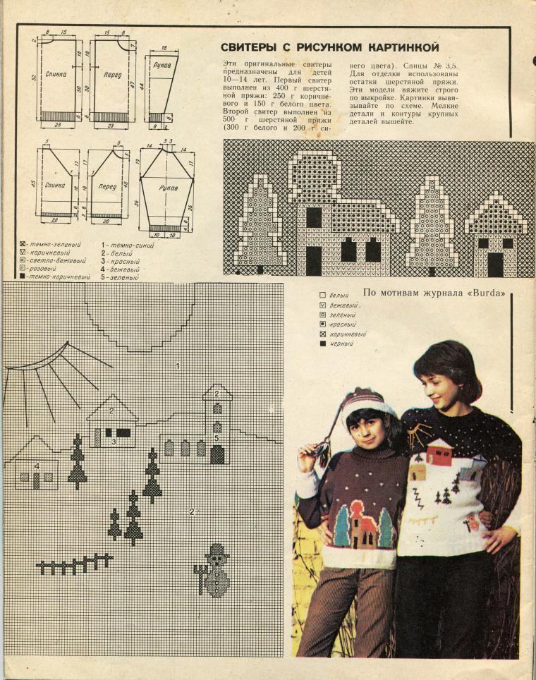 f778cc4f13ff Старые журналы по рукоделию и воспоминания, связанные с ними ...