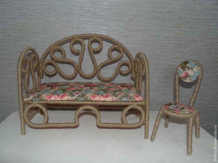 Мк мебель для кукол своими руками