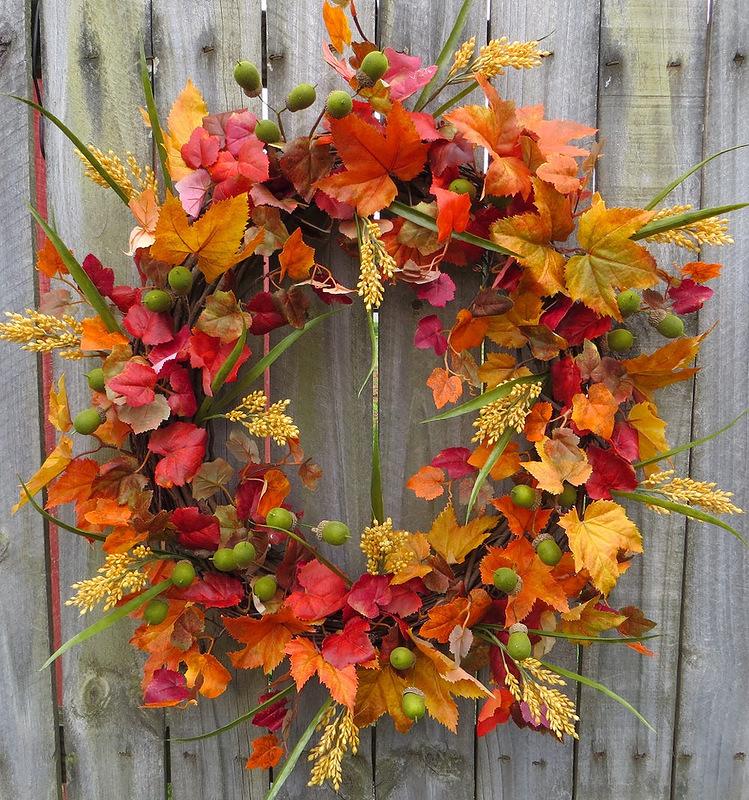 Картинка про осень своими руками