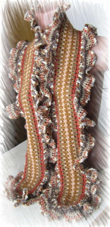 Новая работа - шарф