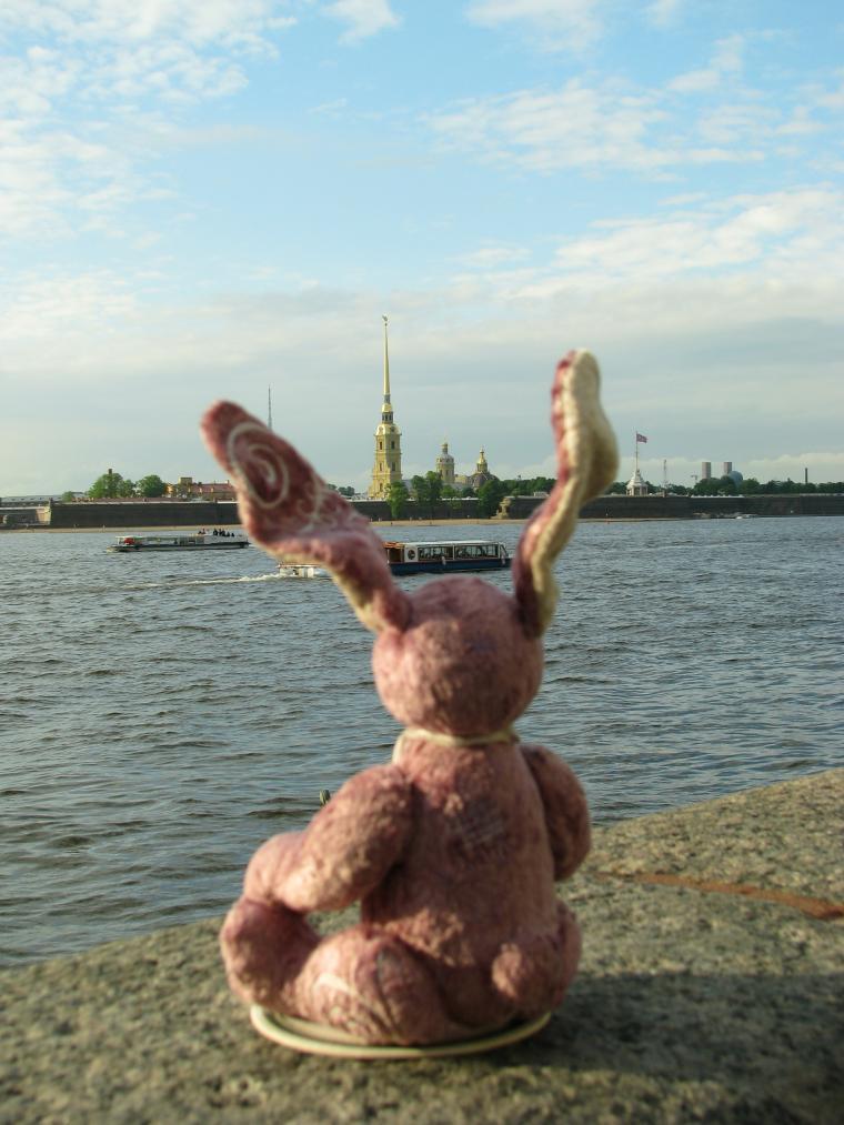 Путешествие зайца из Москвы в Санкт-Петербург, фото № 4