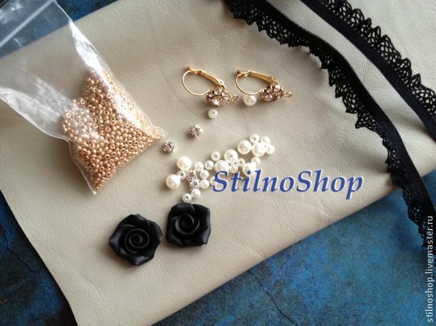 Создаем серьги в стиле Dolce&Gabbana, фото № 2